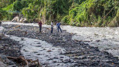 Intervención con Maquinaria Pesada de Puntos Críticos en el Rio Sahuayaco