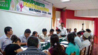 Comité de Coordinación Local del Distrito de Echarati Ratifico Cronograma para Talleres Participativos