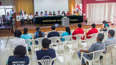 Juramentaron Nuevos Miembros del Comité Multisectorial de Salud COMUDESA en Echarati