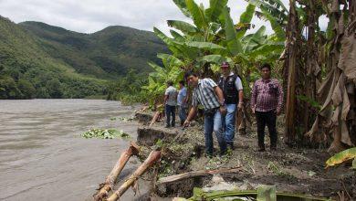 Rápida repuesta del presidente de la Plataforma de Defensa Civil ante desborde del rio Alto Urubamba