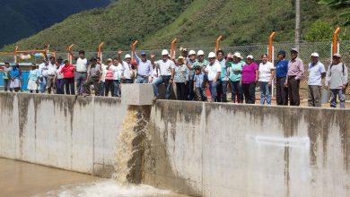 Se concluirá proyecto de riego tecnificado de Lucmapata, Tunkimayo y Buena Vista