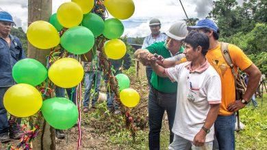 En comunidades nativas de Kumpirushiato se inició con el proyecto de electrificación
