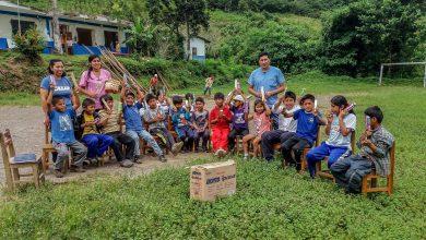 Niñez de Palosantuyoc, Yomentoato y Sanganato se beneficiaron con campaña de salud bucal