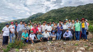 Productores agrícolas de Echarati se capacitaron en manejo de nuevas tecnologías de riego
