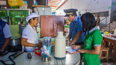 Se encontraron productos vencidos y de dudosa procedencia en operativo conjunto inopinado en el centro poblado de Echarati