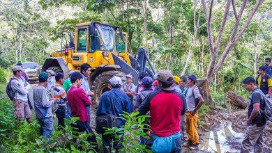 Más de 300 metros de carreteras, viviendas y cultivos fueron afectados en la cuenca de Alto Shima Zonal Kepashiato