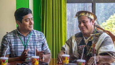 Alcalde de Echarati y Megantoni coordinan trabajos mancomunados para mejorar vías de comunicación