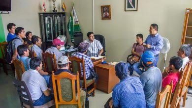 Alcalde de Echarati y regidores atienden numerosas comisiones de las distintas zonales