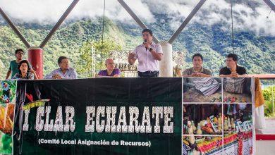 Más de un millón de soles para 34 asociaciones son asignados a través del CLAR Echarati 2019