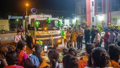 Moderno vehículo compactador se pone al servicio del centro poblado de Kiteni