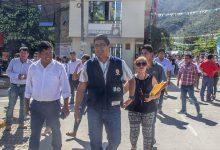 Municipalidad de Echarati Participó en el simulacro de sismo programado por Indeci