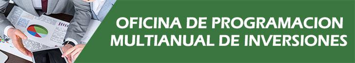 Oficina de Planeamiento Multianual de Inversiones MDE