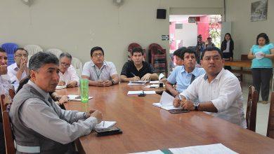 Reunión de validación del plan de prevención de riesgos de Echarati
