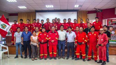 En Echarati bomberos de la provincia se capacitan en prevención de incendios forestales