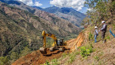 Carretera Amarilluyoc - Kemaluyoc en Echarati presenta un 12.5% de avance