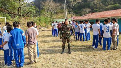 Estudiantes de colegios son capacitados en seguridad ciudadana