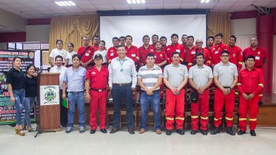 Bomberos de Echarati fueron capacitados en Hidráulica básica aplicada a la lucha contra los incendios