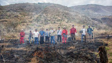 La Gerencia de Medio Ambiente resguardó la propagación de fuego en la quema de parcelas en Sicllabamba