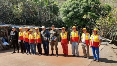 Juntas vecinales de Echarati se capacitan contra incendios forestales