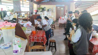 Autoridades realizan operativo inopinado a restaurantes y tienda de abarrotes en Echarati