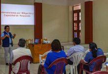 Funcionarios de Municipalidad de Echarati se capacitan en gestión de riesgos y desastres
