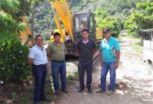 Municipalidad de Echarati inicio descolmatación de rio Kiteni