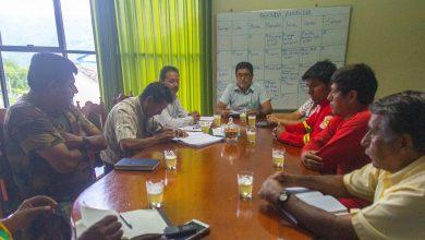 Plataforma de defensa civil Echarati se reunió para coordinar simulacro de lluvias intensas