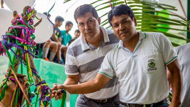 Entrega del Mantenimiento del campo deportivo de Quellomayo