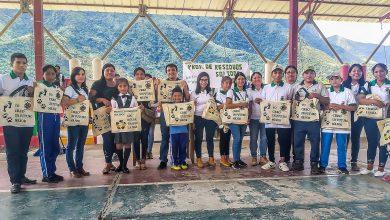Estudiantes de Echarati participaron en concurso de reciclaje