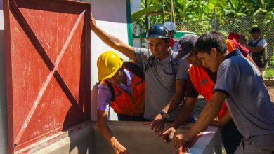 MDE entregó obra de mantenimiento de saneamiento básico de Cocabambilla
