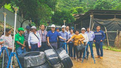 MDE entrego mantenimiento de sistema de riego Rosario Mayo