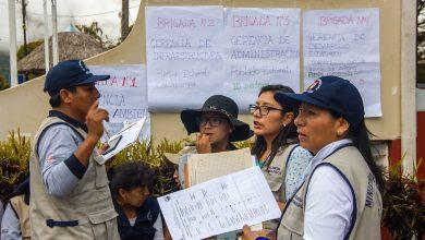 Tercera campaña de recojo de inservibles en Echarati